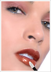 LIP INK Lipstain Color Caramel, Henna Red and Gold Magic Powder