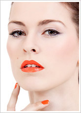 LIP INK Lipstain Color Neon Orange